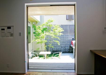 家づくりのアイデア デザイン(フルオープンサッシ)