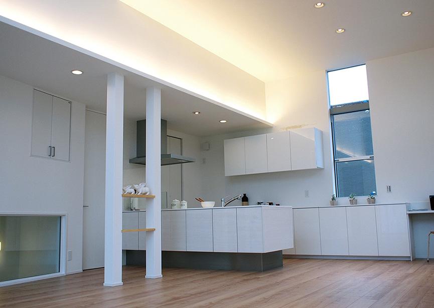 家づくりの・アイデア デザイン(2階リビング)