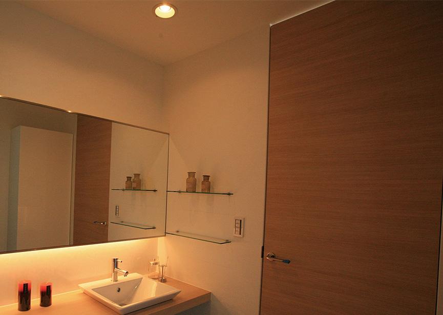 家づくりの・アイデア デザイン(造作洗面カウンター)