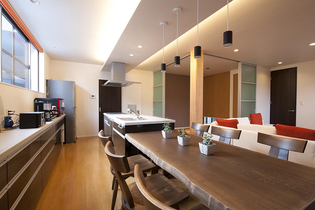 家づくりのアイデア・デザイン(アイランドキッチン)