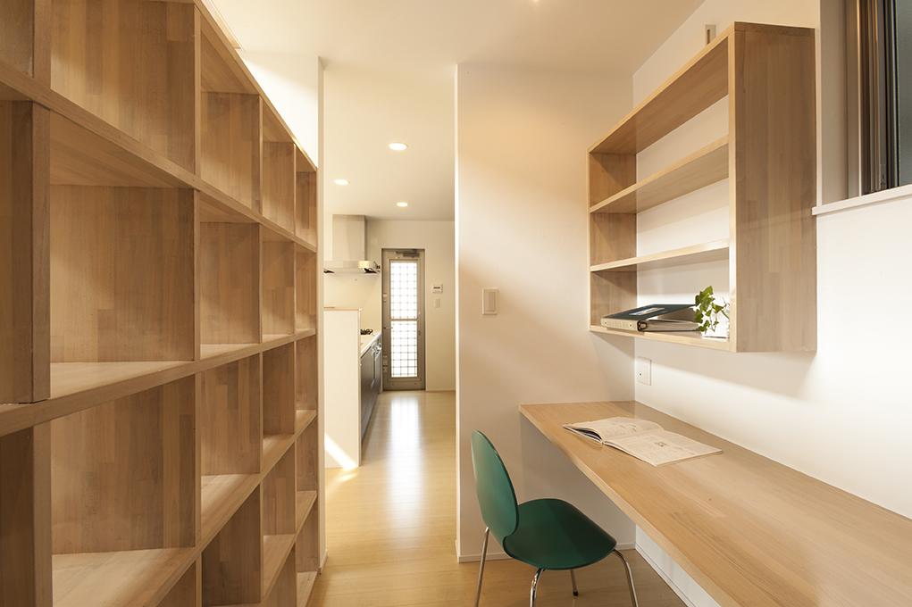 家づくりのアイデア・デザイン(家族の図書館)